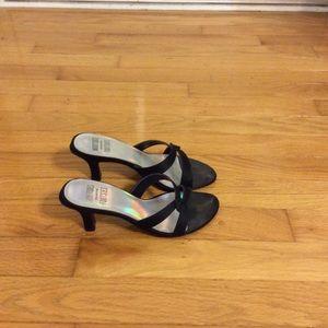 Mootsies Tootsies Black Sandals
